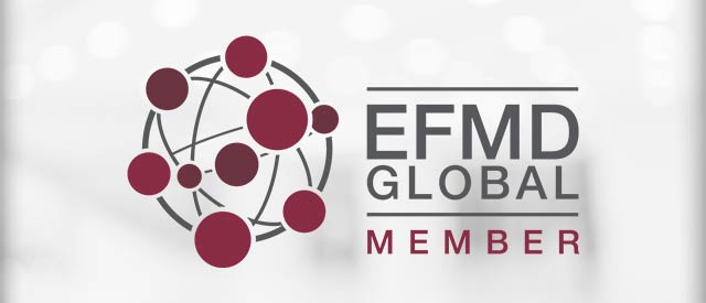 EFMD logo - School of Business has been admitted to this exclusive global organization.