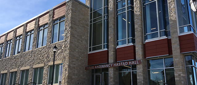 Doug and Nancy Hastad Hall