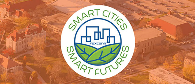 Foxconn Smart Cities - Smart Futures competition logo