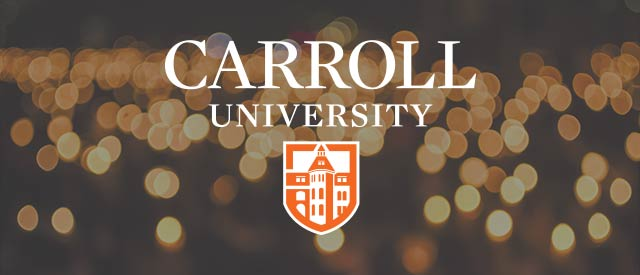 bokeh vigil with carroll logo