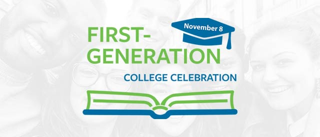 first-generation college celebration