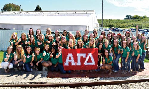 Members of Alpha Gamma Delta